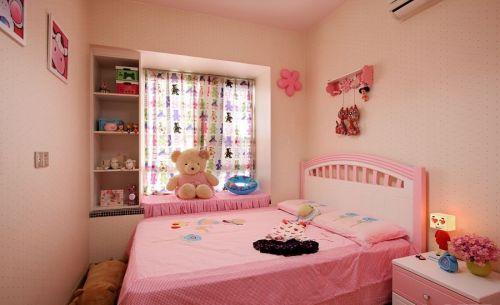 装修粉色儿童房