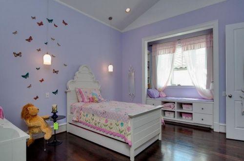 粉色公主儿童房