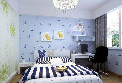 简约中式卧室美图