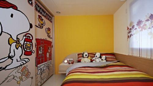 简欧风格儿童房室内装修效果图