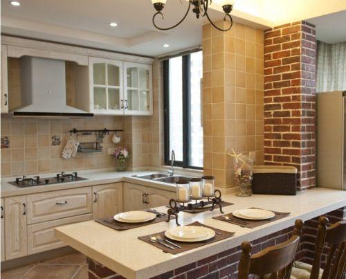 欧式古典风格厨房设计