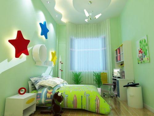 欧式奢华儿童房装修实景图