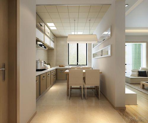 现代简约厨房吊顶图片
