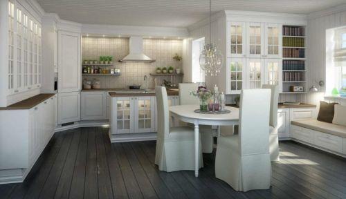 典雅欧式厨房效果图