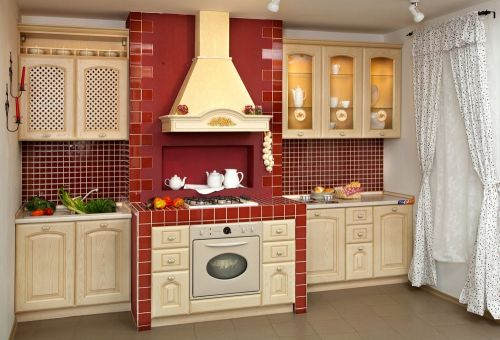 美式厨房图片赏析