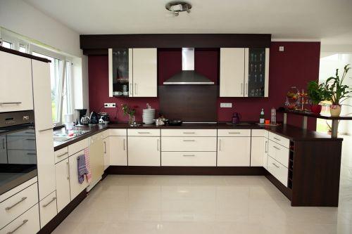 现代简约厨房图片赏析