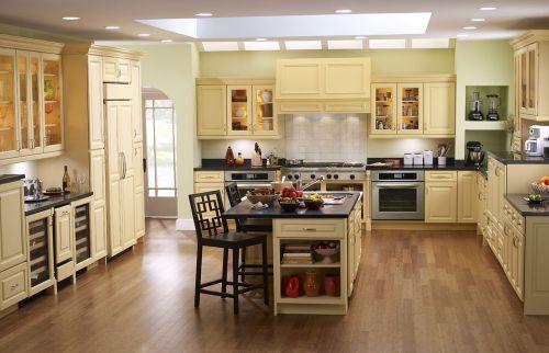 田园风格厨房图片赏析