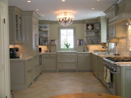 新古典厨房吊顶效果图