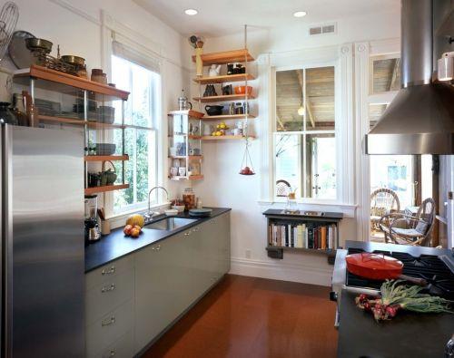 田园厨房装修效果图
