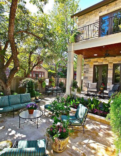 悠闲小花园设计