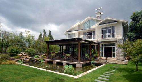 豪华古风花园设计