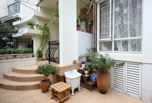 欧式干净花园设计