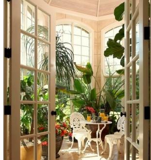简约欧式小花园装饰