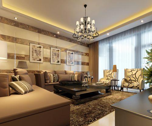 奢华混搭客厅设计