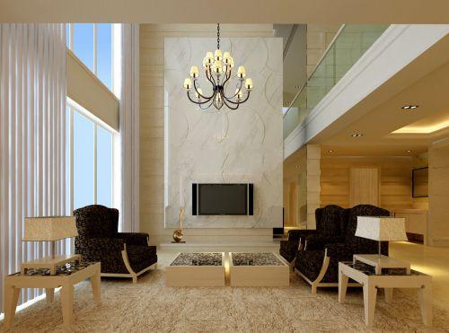 超豪华海滨别墅客厅设计