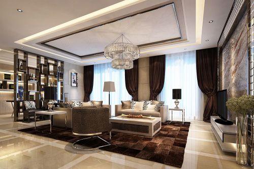 豪华现代家装客厅设计