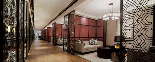 简单宽敞的走廊装潢