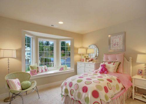 简欧卧室飘窗设计图