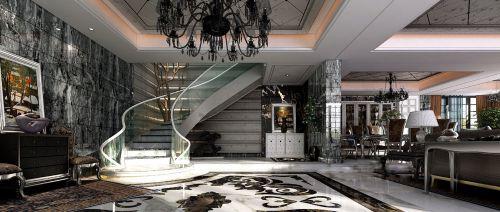 别墅客厅装修效果图大全
