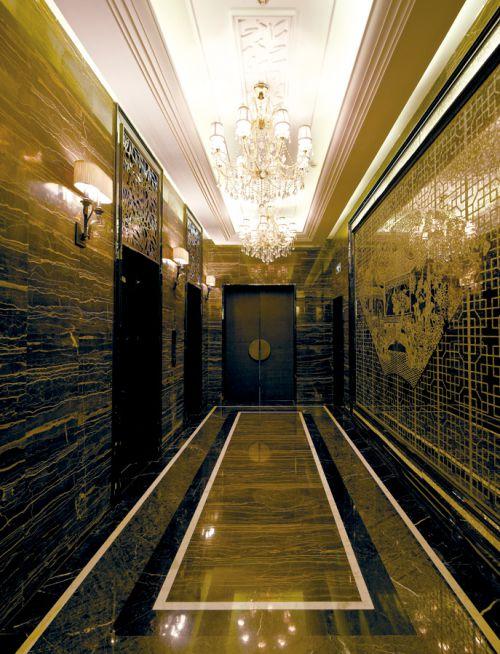 欧式走廊设计效果图