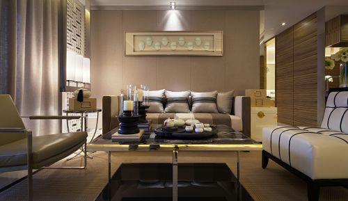 现代简约型客厅装潢