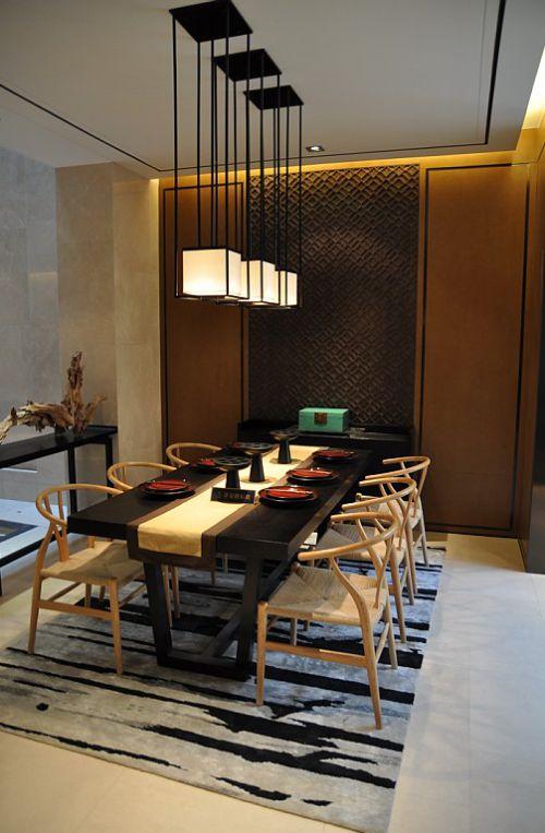 美式风格的餐厅设计