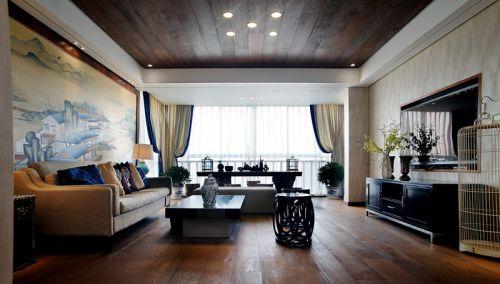 新中式风格的客厅