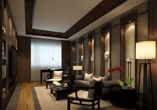 中式风格书房装修效果图