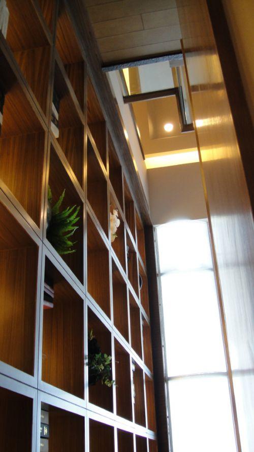 客厅储物架设计