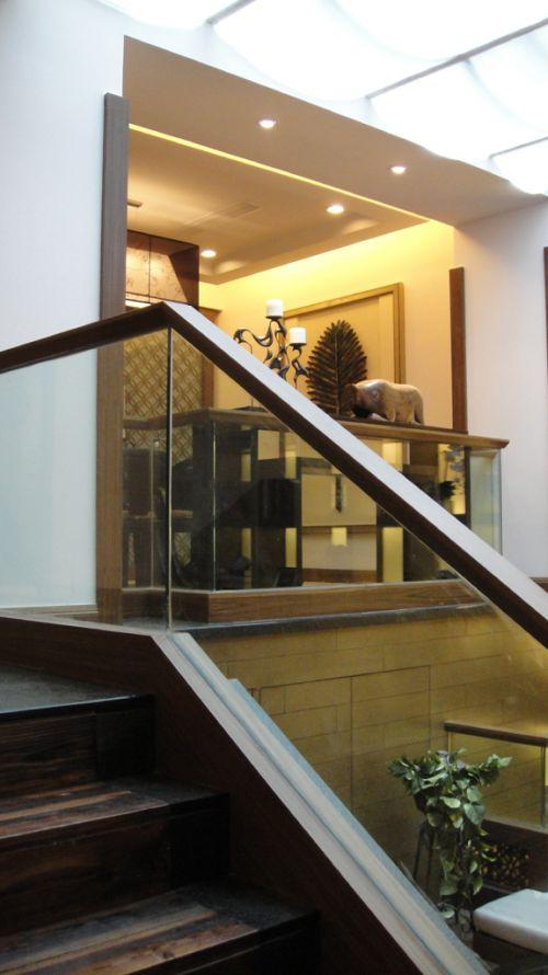 现代风格的楼梯设计
