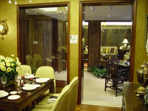 中式餐厅装潢