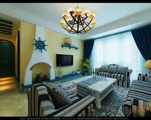 地中海客厅设计