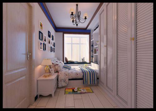 蓝色的卧室设计
