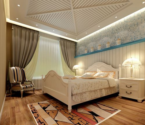 地中海风情卧室设计