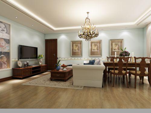 客厅餐厅一体化装潢设计