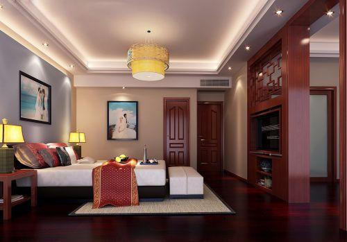 中式古典卧室设计