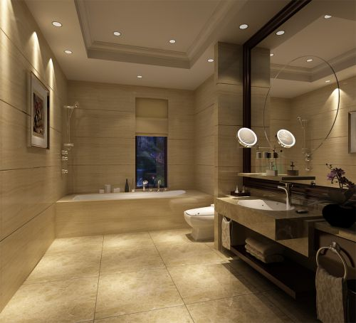新中式简约卫生间装潢设计