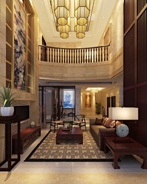 复式住宅客厅装潢