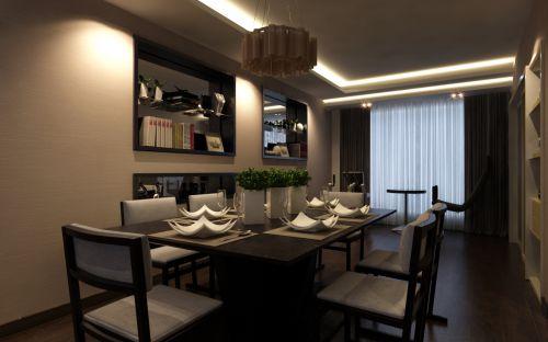 现代简约风格餐厅装潢