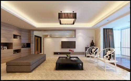 简约日式家装客厅装修图