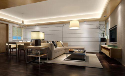 公寓式简约风格客厅设计