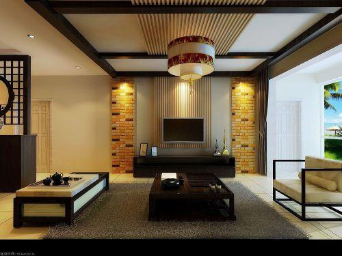 新中式客厅装修