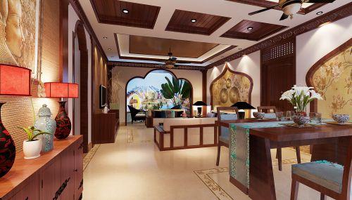 古典欧式风情客厅装潢