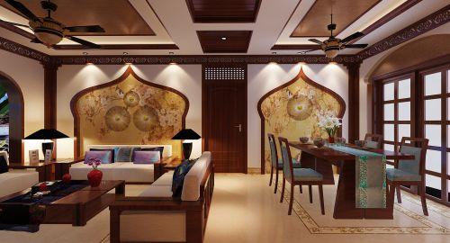 欧式风情餐厅设计