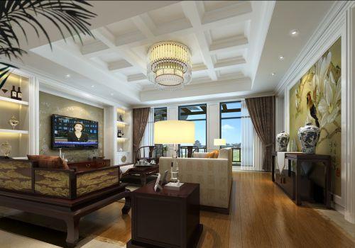 新古典奢华客厅装修