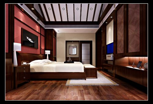 温馨舒适的卧室效果图