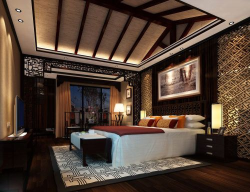 古典舒适的卧室装修