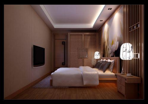 现代温馨的卧室装修