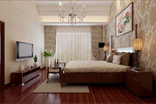 咖啡色古典卧室装修