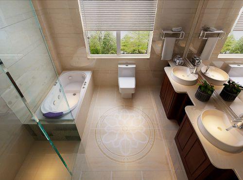 现代简约卫生间装潢